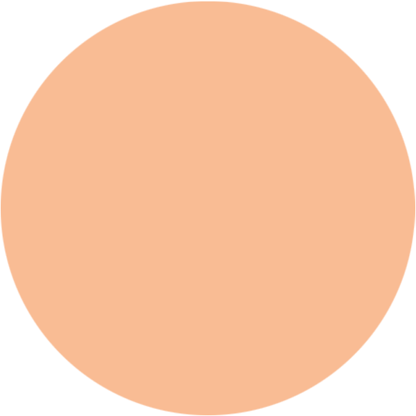 orange circle background